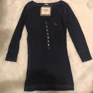 Abercrombie & Fitch 3/4 sleeve top